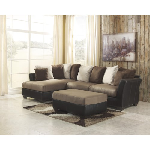 Ashley/Benchcraft Masoli - Mocha Stationary Living Room Group