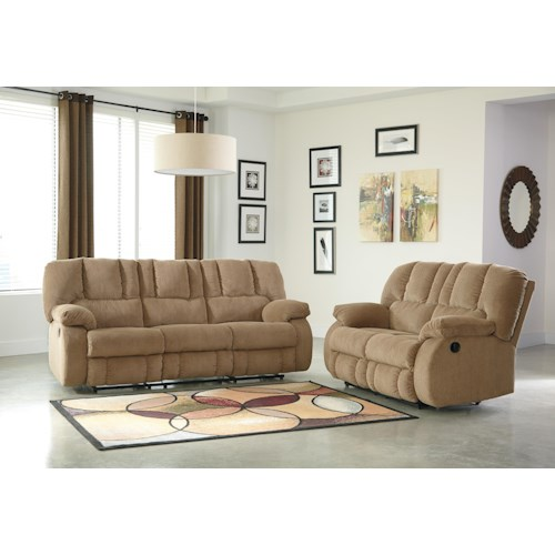 Ashley Roan Reclining Living Room Group