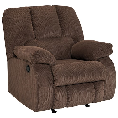Benchcraft Roan Contemporary Rocker Recliner