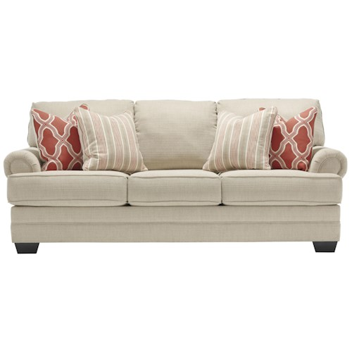 Benchcraft Sansimeon Queen Sofa Sleeper with Memory Foam Mattress