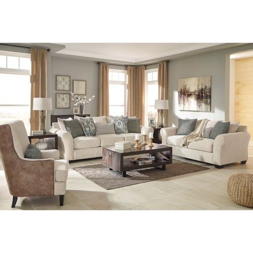 Benchcraft Silsbee Stationary Living Room Group