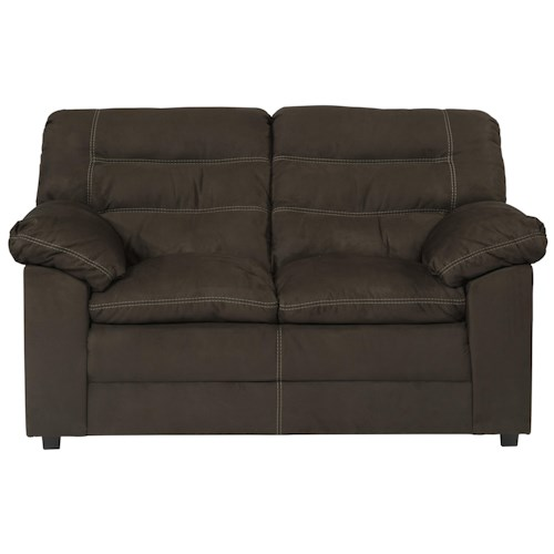 Benchcraft Talut Loveseat with Pillow Top Seat Cushioning