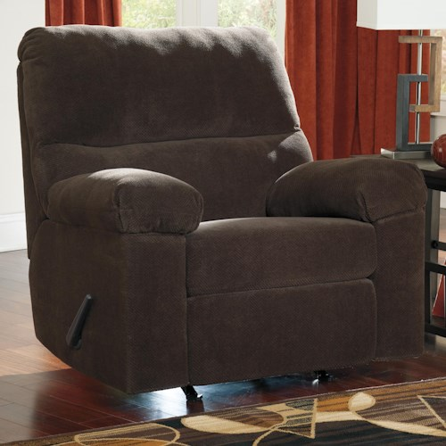 Ashley Zorah Casual Contemporary Rocker Recliner