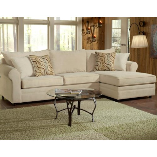 Belfort Essentials Monticello Upholstered Sofa Sectional