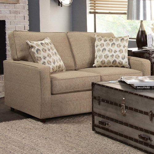 Belfort Essentials Eliot Transitional Loveseat