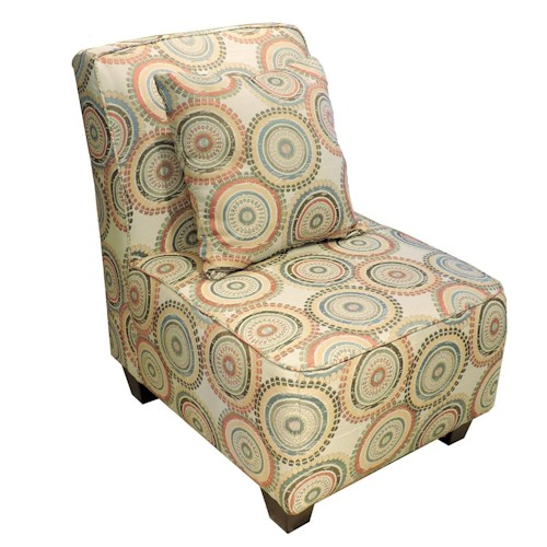 Belfort Essentials Judson Upholstered Armless Chair
