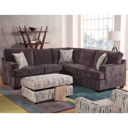 Belfort Essentials Rosslyn Casual Sectional Sofa