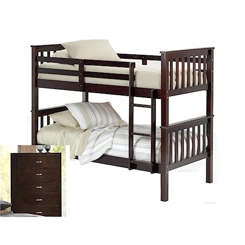 Bernards 3729 Youth Bedroom