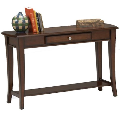 Morris Home Furnishings Broadway Sofa Table with Drawer