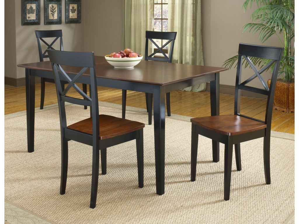 Shown with 4 Side Chairs