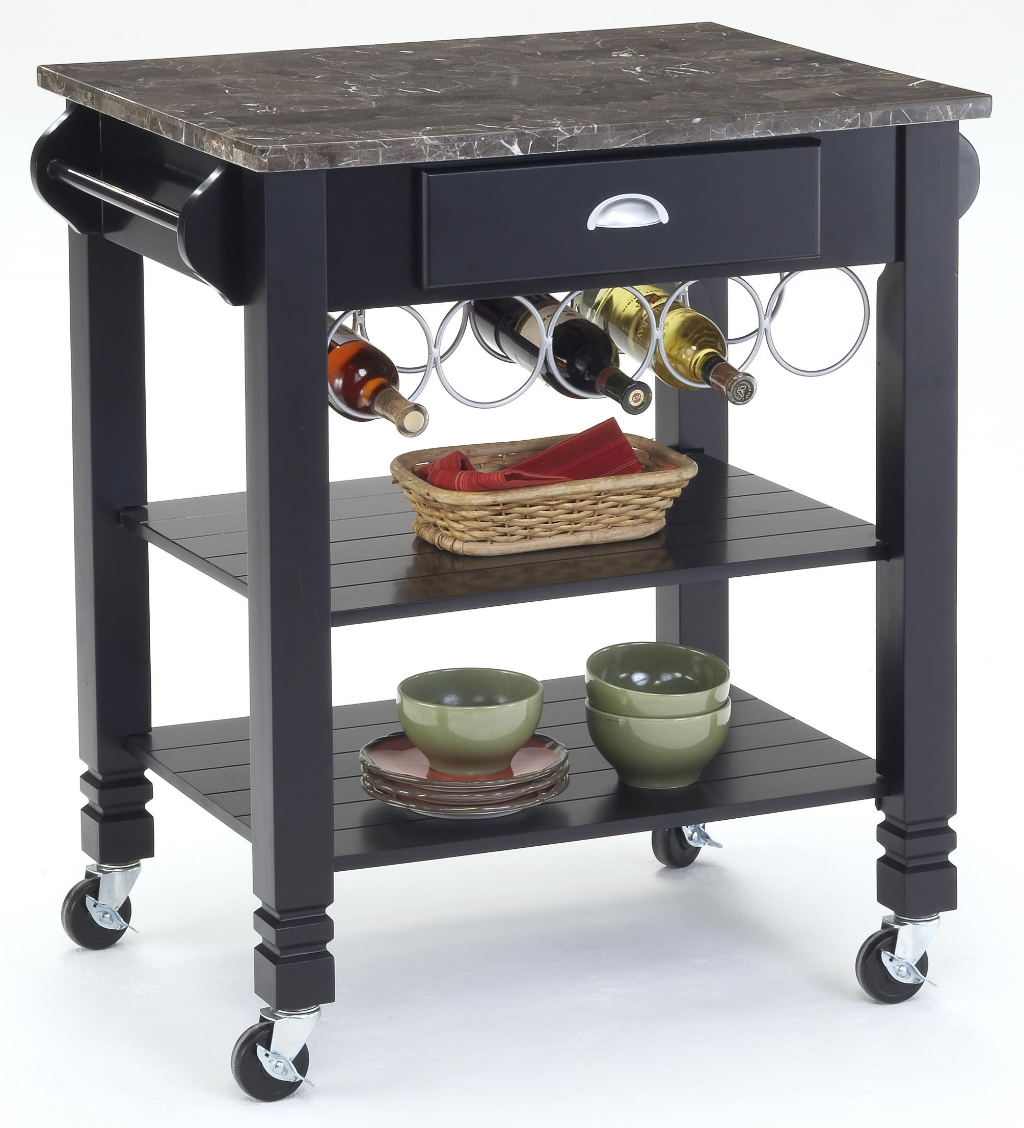 kitchen carts caster kitchen island with marble top  morris home,