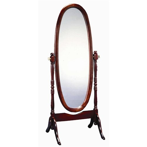 Morris Home Furnishings Mirrors Traditional Cheval Mirror