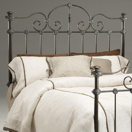 Morris Home Furnishings Tierra Verdi King Metal Headboard