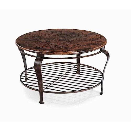Bernhardt Clark Round Cocktail Table