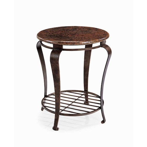 Bernhardt Clark Round End Table