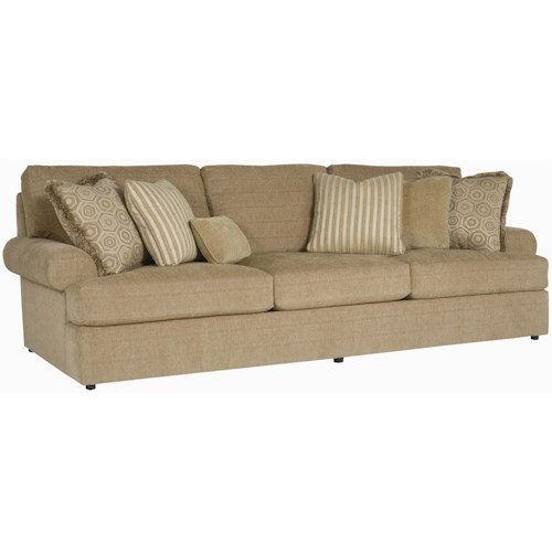 Bernhardt Andrew  Stationary 3-Seat Sofa