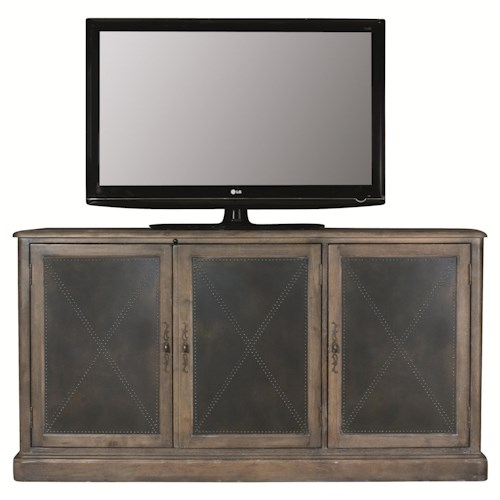 Bernhardt Belgian Oak Entertainment Console