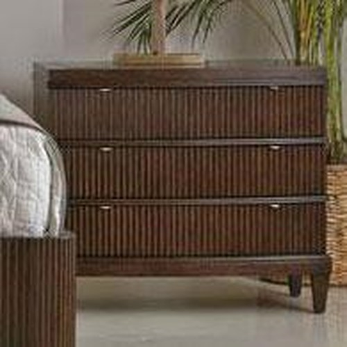 Bernhardt Beverly Glen Bachelor's Chest with Black Galaxy Stone Top