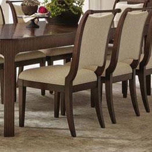 Bernhardt Beverly Glen Upholstered Side Chair with Tapered Legs