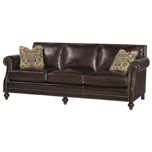 Bernhardt Brae  High End Sofa with Traditional Style