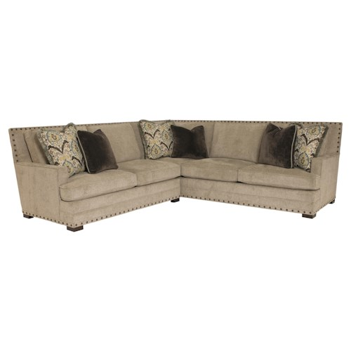 Bernhardt Cantor  Sectional Sofa