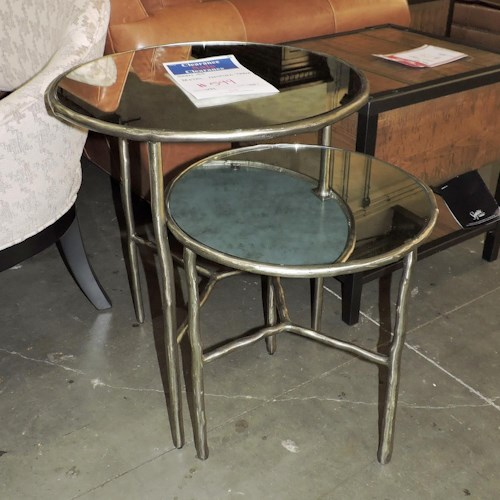 Bernhardt Clearance Metal Nesting Tables