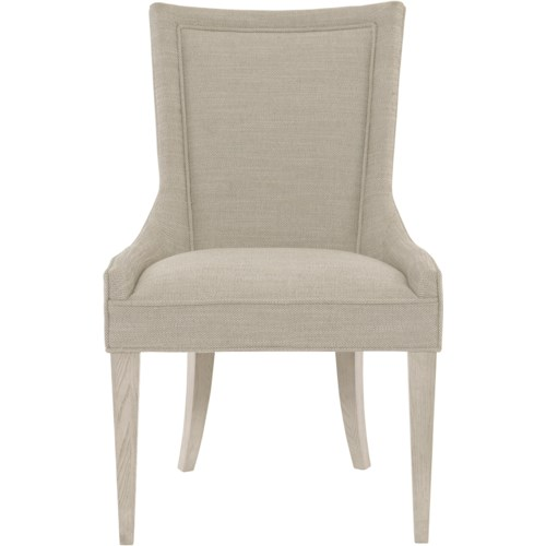 Bernhardt Criteria Sloped Upholstered Arm Chair