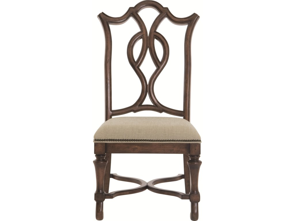 Set Includes Splat Back Side Chairs