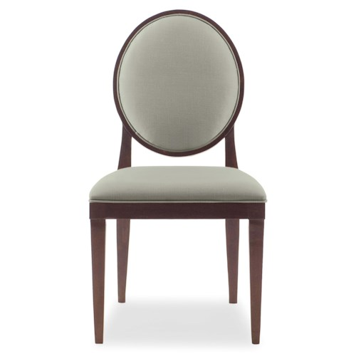 Bernhardt Haven Side Chair with Oval Back