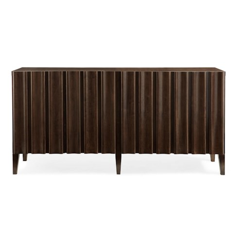 Bernhardt Hawkins Entertainment Console with Built-in Wine Storage