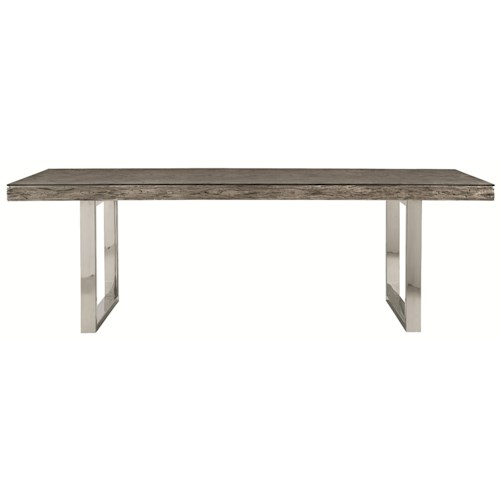 Bernhardt Henley  Rustic Modern Dining Table 84