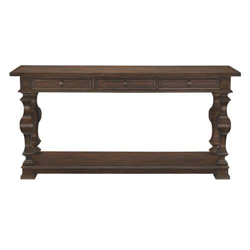 Bernhardt Howell Console Table with 3 Drawers