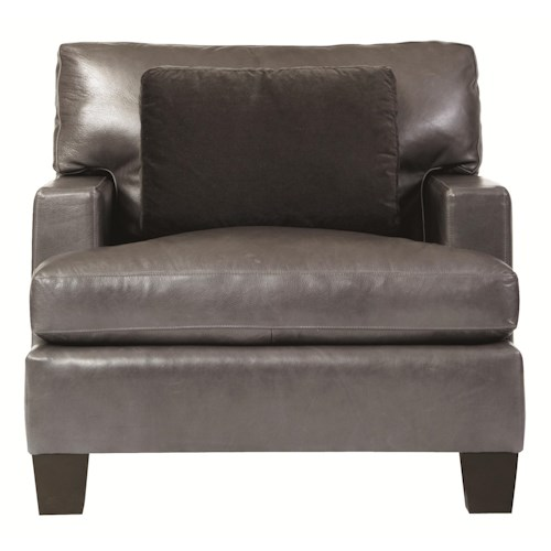 Bernhardt Interiors - Denton Decorative Chair with Contemporary Design