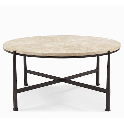 Bernhardt Interiors - Duncan Round Cocktail Table