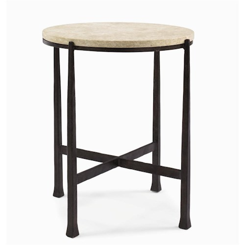 Bernhardt Interiors - Duncan Round Side Table