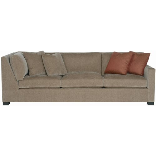 Bernhardt Interiors - Kelsey Right Arm Return Sofa