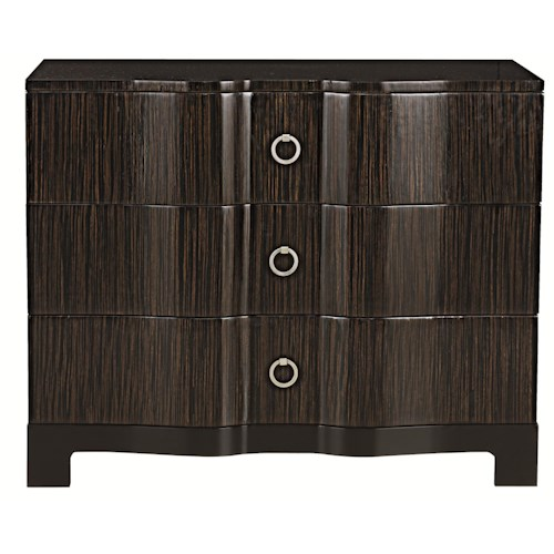 Bernhardt Interiors - Accents Vance Bachelor's Chest with 3 Drawers
