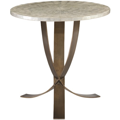 Bernhardt Interiors - Accents Litchfield Accent Table with Capiz Shell Top