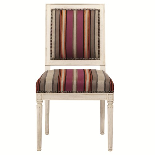 Bernhardt Interiors - Percy Percy Side Chair with Fluted Legs