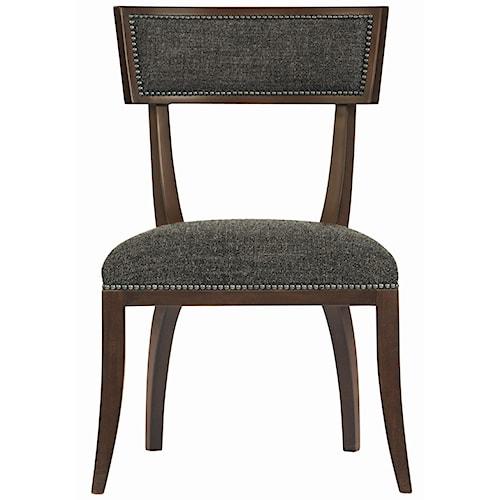 Bernhardt Interiors - Chairs Delancey Chair with Decorative Nail Trim