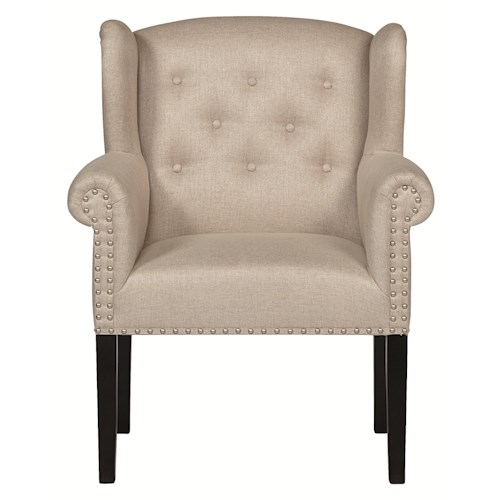 Bernhardt Interiors - Chairs Bowery Upholstered Arm Chair for Tables or Living Rooms