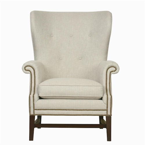 Bernhardt Interiors - Chairs Tivoli Upholstered Chair with Tufted Back