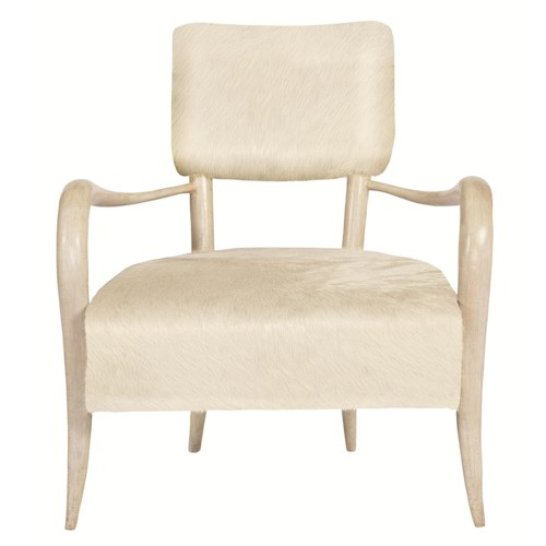 Bernhardt Interiors-Chairs Elka Chair with Modern Rustic Style