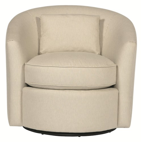 Bernhardt Interiors Contemporary Swivel Chair