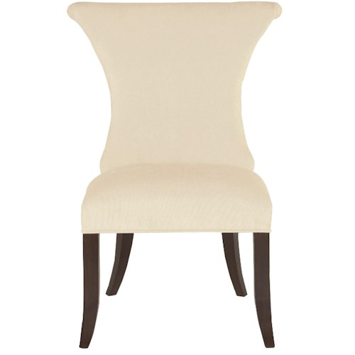 Bernhardt Jet Set <b>Customizable</b> Side Chair with Ring Pull Hardware