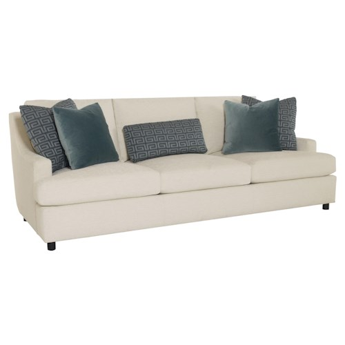 Bernhardt Josh  Sofa with Decorative Throw Pillows