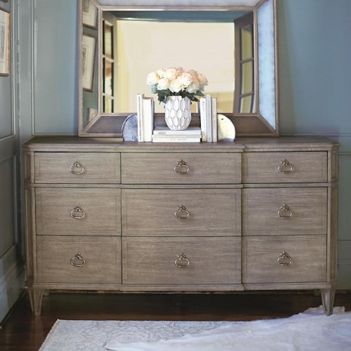 Bernhardt Marquesa Dresser with 9 Drawers
