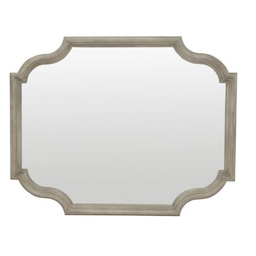 Bernhardt Marquesa Mirror with Shaped Frame