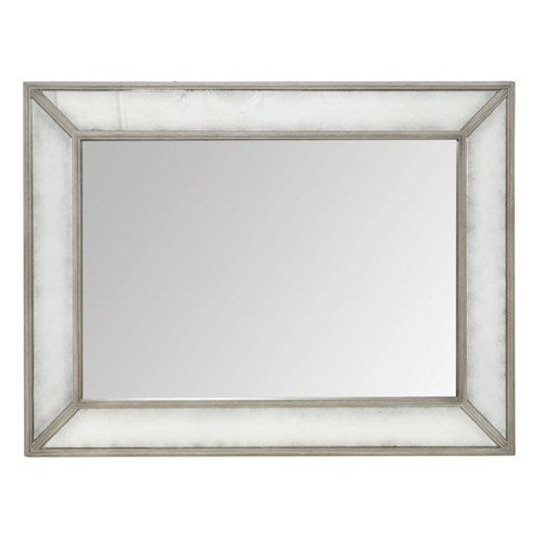 Bernhardt Marquesa Mirror with Antique Glass Border