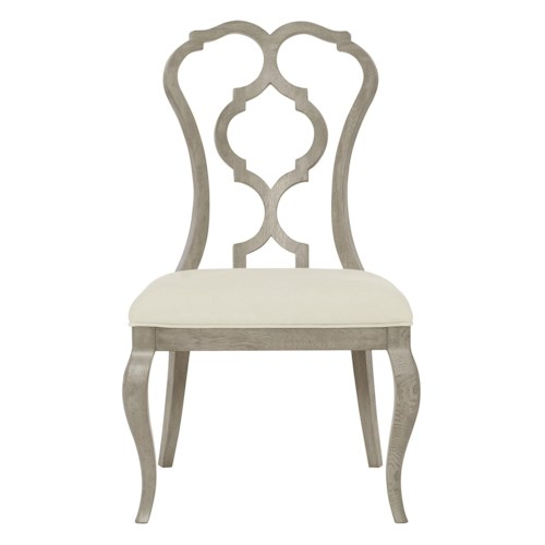 Bernhardt Marquesa Splat Back Side Chair